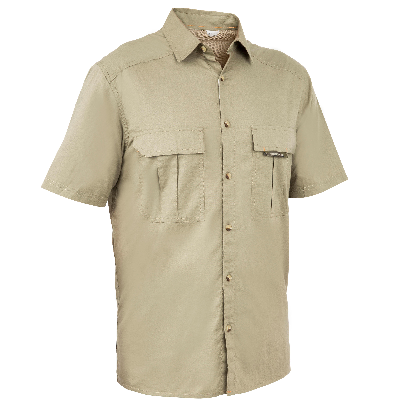 Men's Short Sleeve Shirt 100 Green