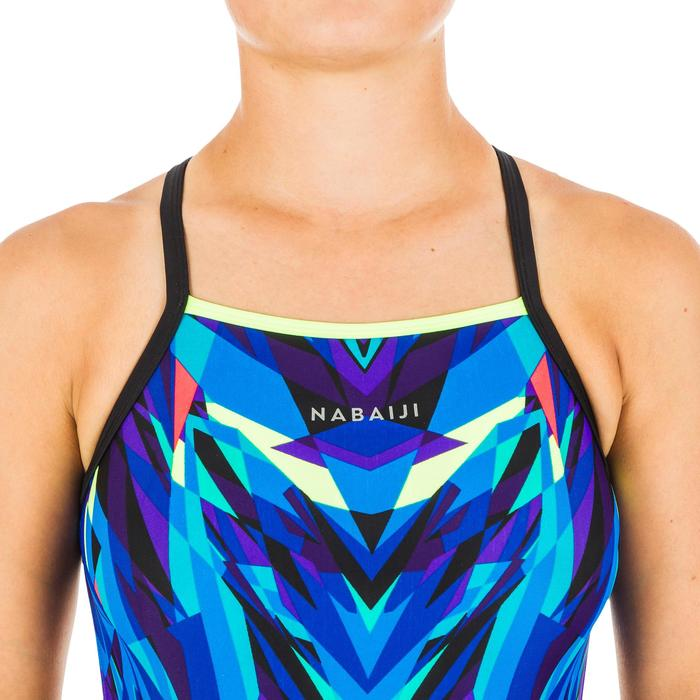 Maillot de bain de natation femme une pièce Lexa kal bleu