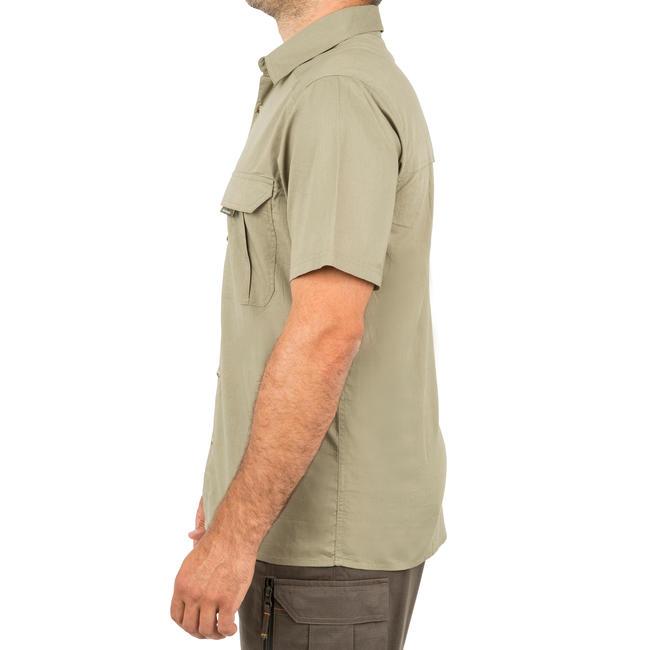 Men's Half Sleeve Shirt 100 Green
