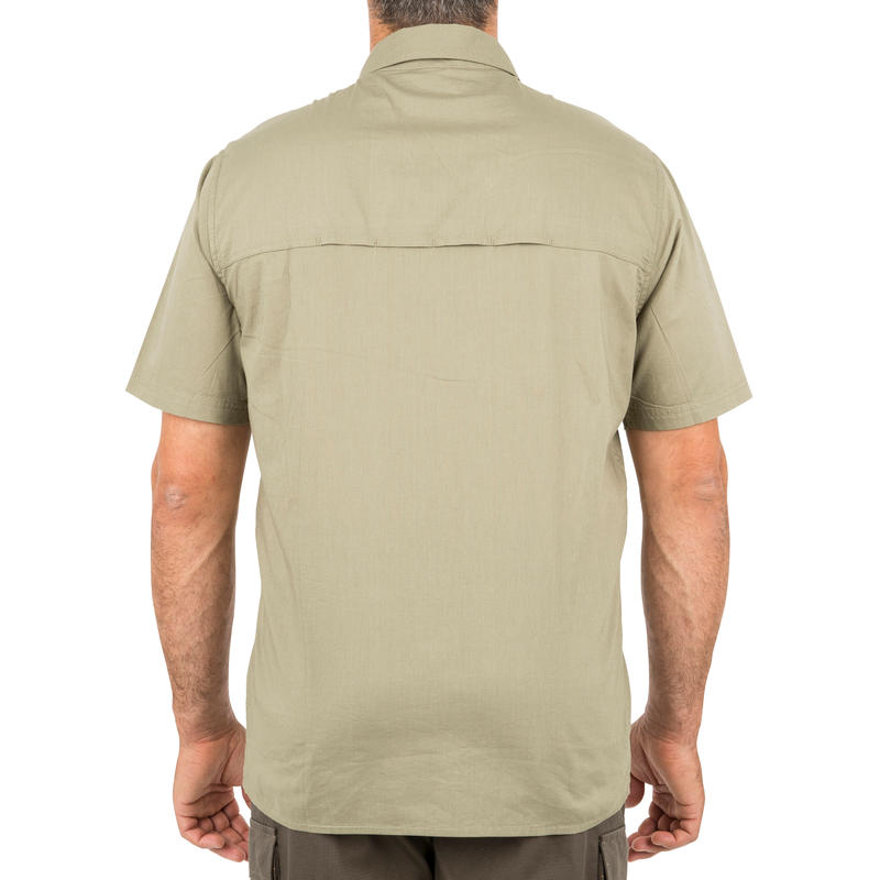 Men's Half Sleeve Shirt 100 Green
