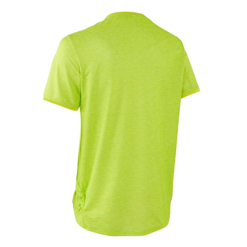 KLÄDER MTB TURÅKNING VARMT VÄDER NYBÖRJA Cykelsport - Cykeltröja MTB ST100 herr grön ROCKRIDER - Cykeltröjor och T-shirts
