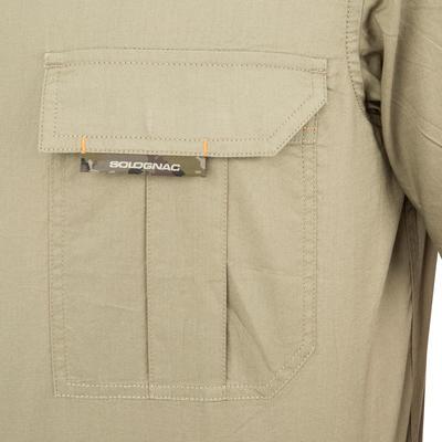 100 Short Sleeve Hunting Shirt - Light Green