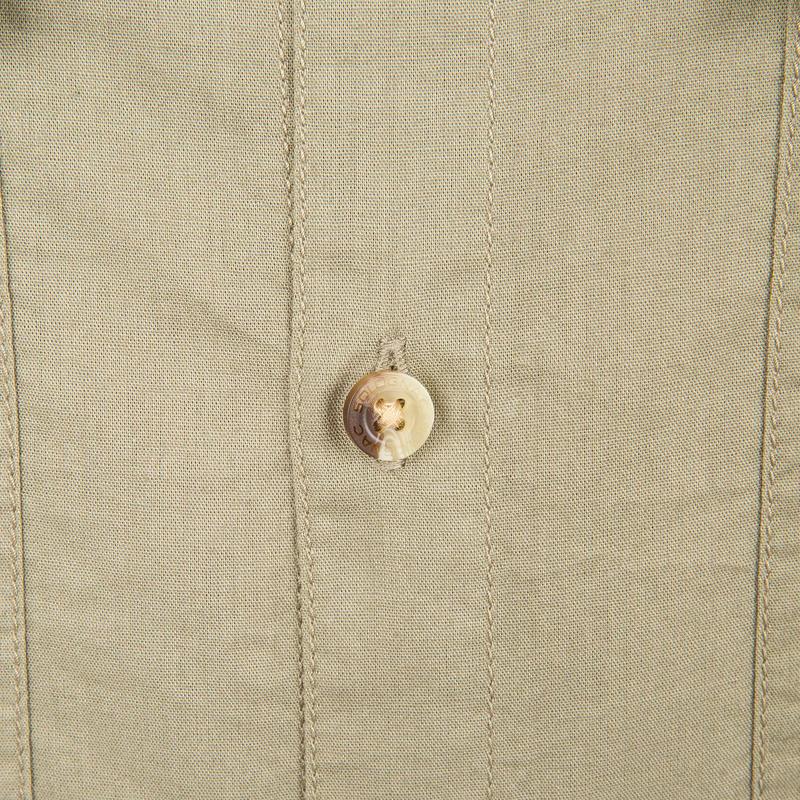 100 Short Sleeve Hunting Polo Shirt - Light Green