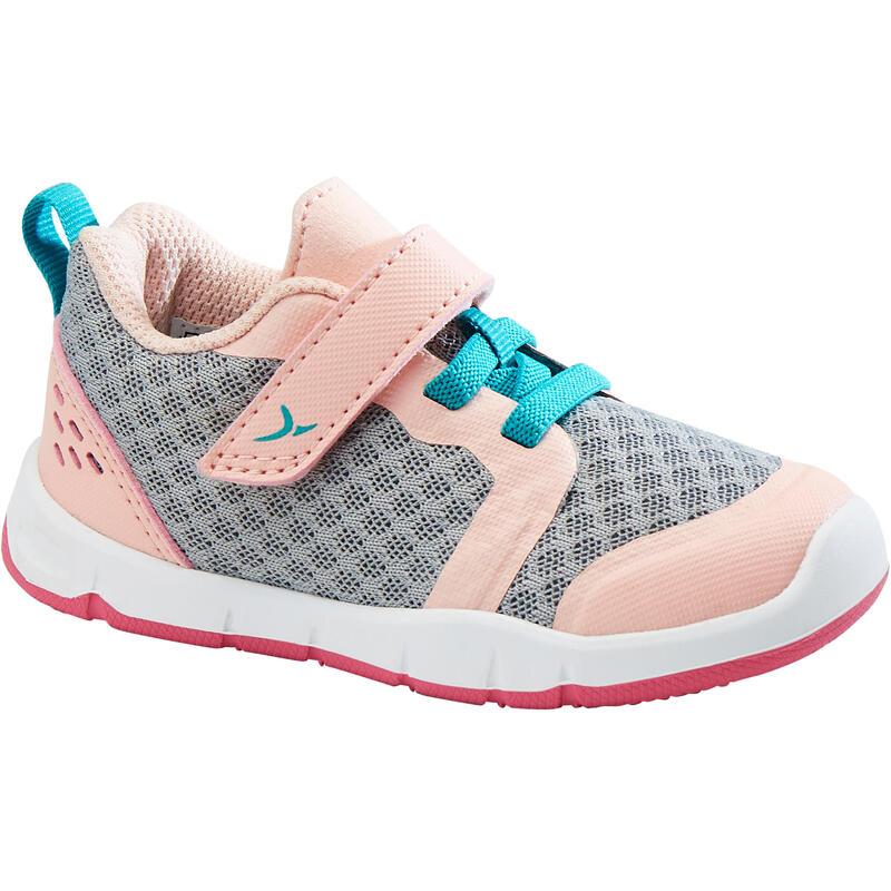 Dětské boty 520 I Learn Breath šedo-růžové