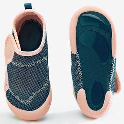 Ademende schoentjes 580 BABYLIGHT blauw/roze