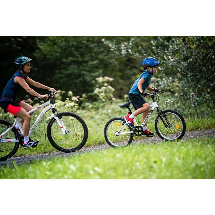 Kindermountainbike Rockrider ST 100 20 inch 6-9 jaar wit
