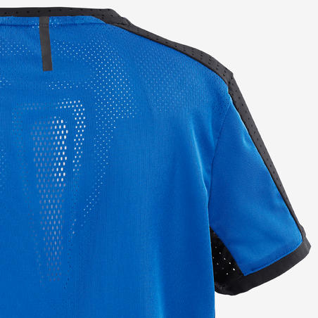 T-Shirt Senam Breathable Teknis Laki-laki S900 - Biru