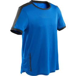 Camiseta transpirable y técnica S900 niño GIMNASIA INFANTIL azul