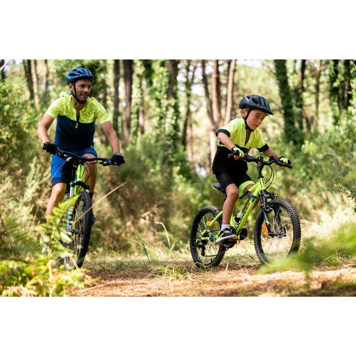 Mountainbike Kinder 20 Zoll Rockrider ST500 neongelb