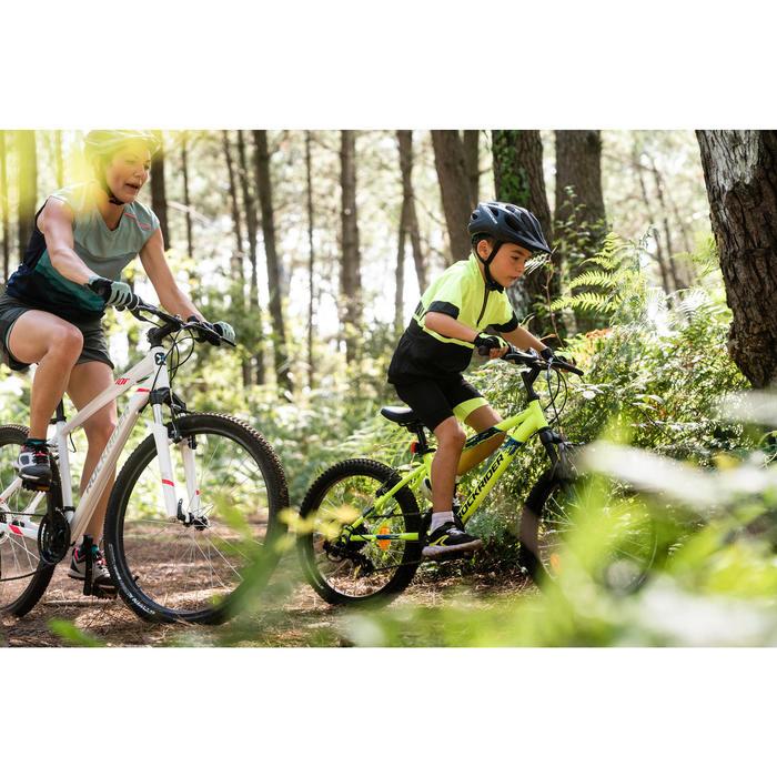 Mountainbike voor kinderen 6-9 jaar Rockrider ST 500 20 inch fluogeel
