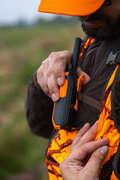 Pile caccia Abbigliamento uomo - Giacca imbottita 500 marrone SOLOGNAC - Abbigliamento uomo