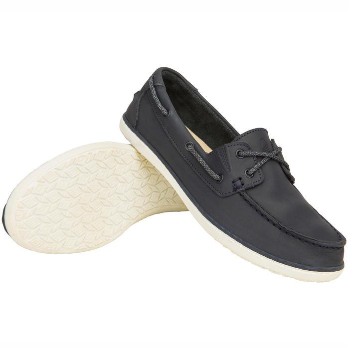 Zapatos náuticos adherente mujer ribord SAILING 500 Navy