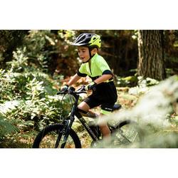 Fahrradhandschuhe 500 Kinder neongelb/schwarz