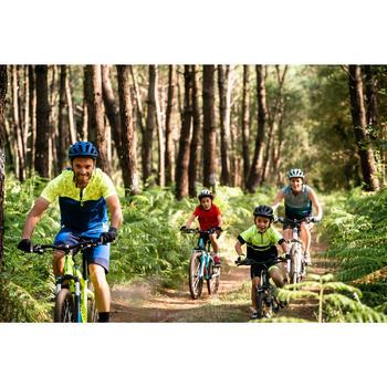 Mountainbike voor kinderen 6-9 jaar Rockrider ST 500 20 inch zwart
