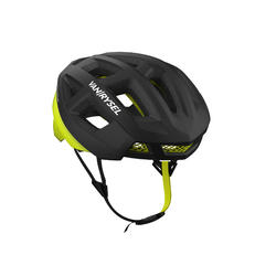 Racer Cycling Helmet - Black/Neon Yellow