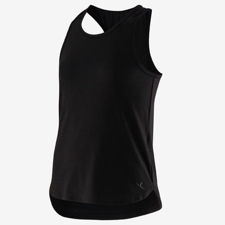500 Breathable Fitness Tank Top - Girls