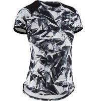 S500 Breathable Synthetic Fitness T-Shirt - Girls