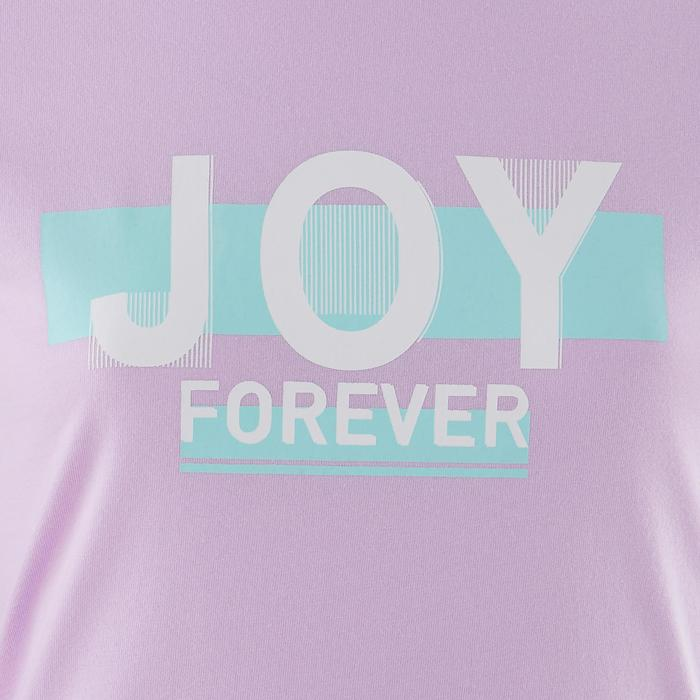 Kids' Girls' Short-Sleeved T-Shirt 100 - Printed Purple