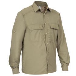 Ademend overhemd 500 groen