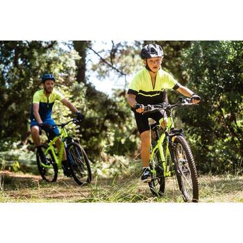兒童短袖自行車衣500 - 黃色