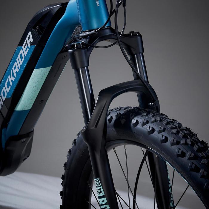 "Elektrische mountainbike e-ST 900 27'5"" 90Nm, elektrische fiets dames turkoois"
