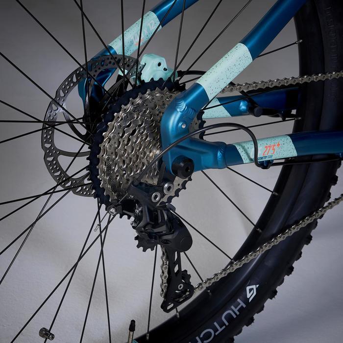 """Elektrische MTB voor dames E-ST 900 27.5"""" turquoise"""