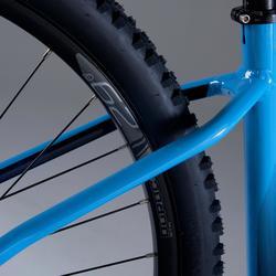 """Vélo VTT XC 500 29"""" semi rigide EAGLE 1x12 bleu ciel"""