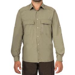 Ademend overhemd 500 groen - 175430