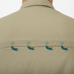 Ademend overhemd 500 groen - 175432