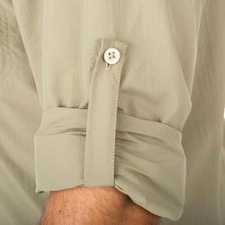 Ademend overhemd 500 groen - 175433