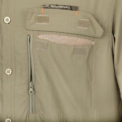 Ademend overhemd 500 groen - 175437