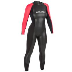 Neopreen wetsuit voor zwemmen in open water dames OWS 2/2 mm
