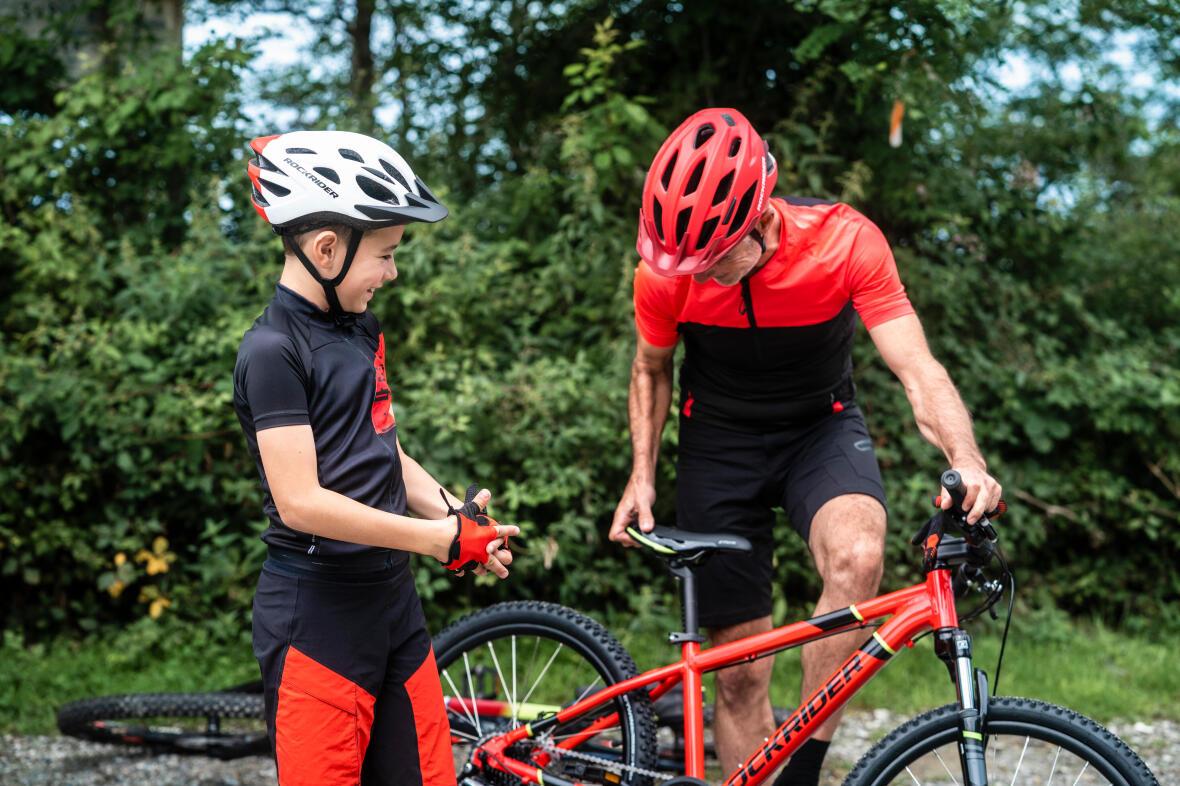 vélo chez les enfants