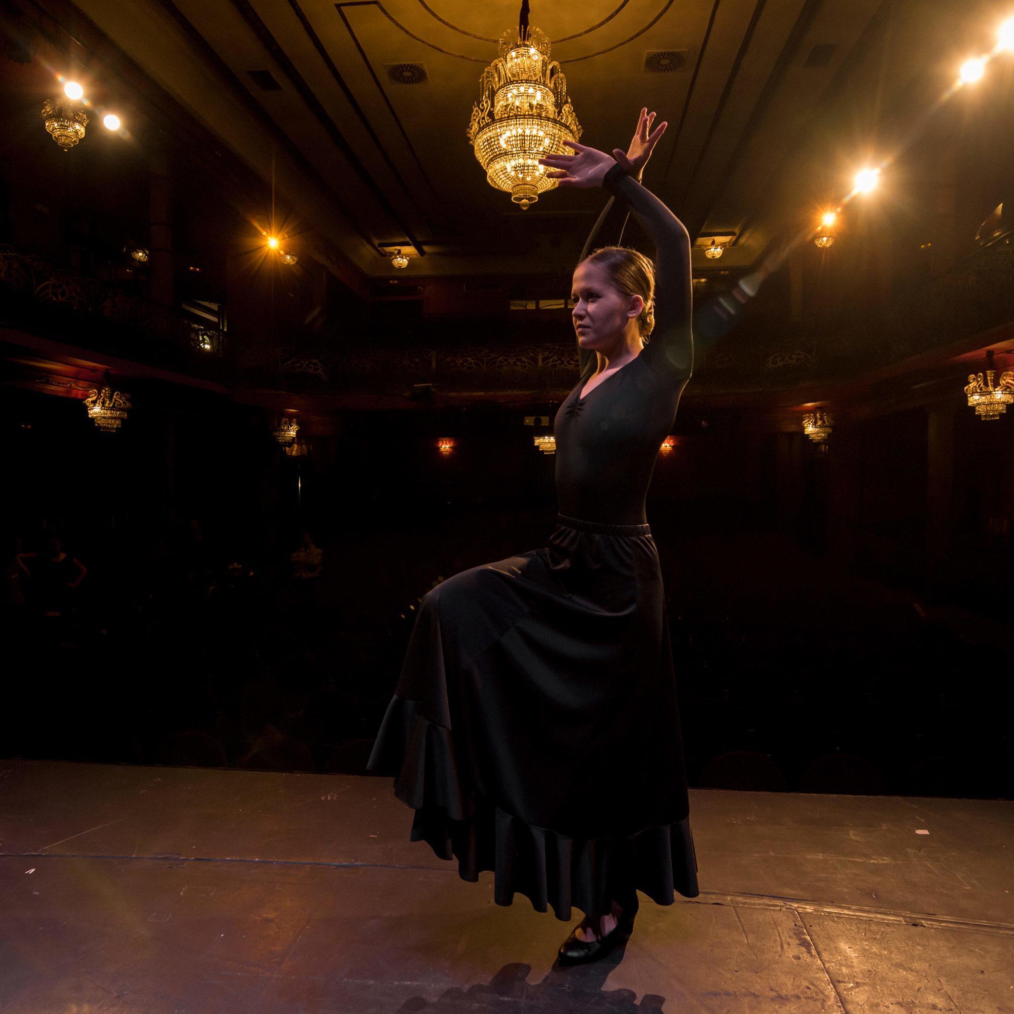 Mujer Yebra Maillot de Ensayo para Baile