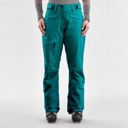 Pantalon de ski Freeride Femme FR500 Vert