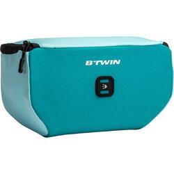 Stuurtas voor kinderfiets turquoise