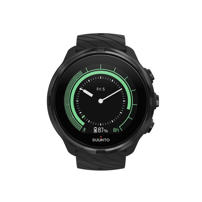 Montre GPS cardio multisport Suunto 9 All Black