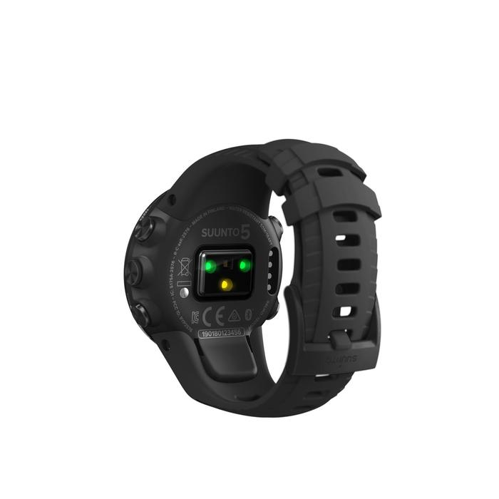 Montre GPS cardio multisport Suunto 5 All Black