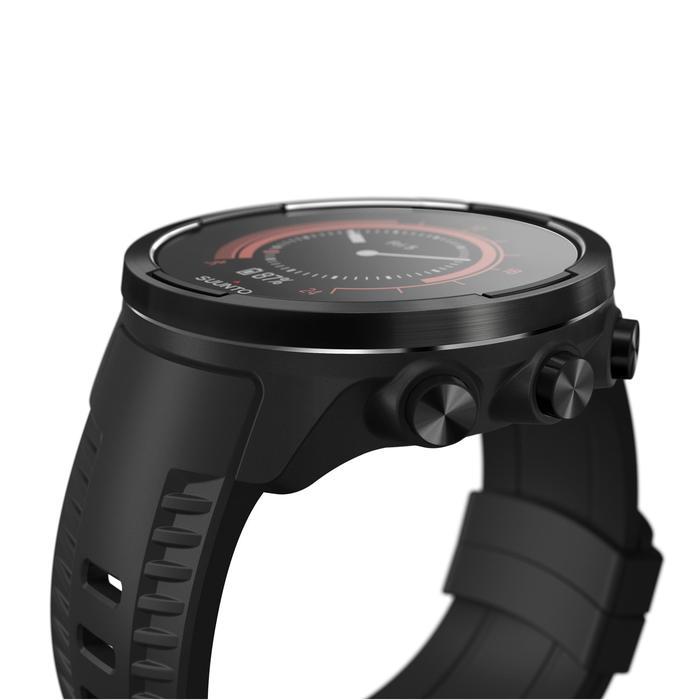 Gps-horloge met hartslagmeter multisport Suunto 9 Baro Black