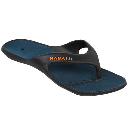 Men's Pool Flip-Flops Tonga 500 - Black
