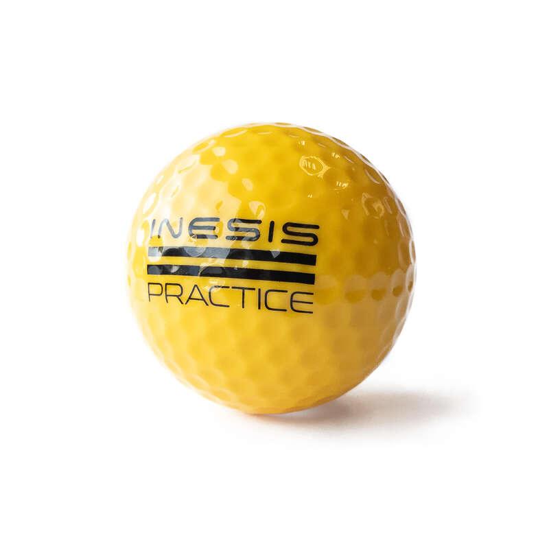 BOLLAR, HANDSKAR, PEGGAR FÖR GOLF Golf - Rangeboll 300-pack INESIS - Golfutrustning