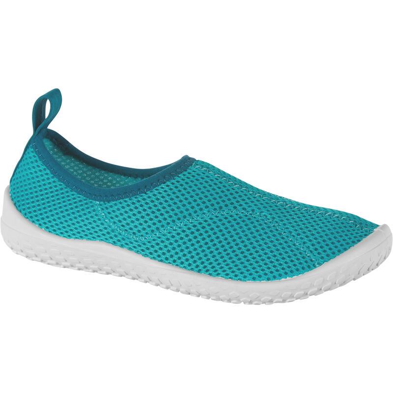Waterschoenen voor kinderen Aquashoes 100 turquoise