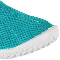 Waterschoenen Aquashoes 100 voor kinderen turquoise