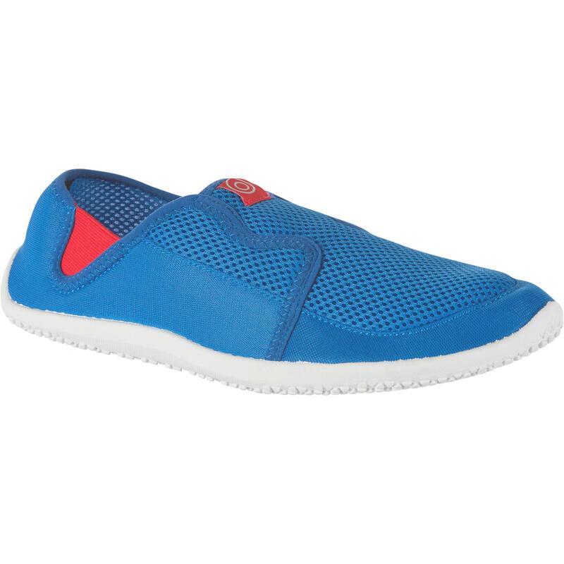 Escarpines Cangrejeras Zapatillas Acuáticas De Río Snorkel Subea Adulto Azul