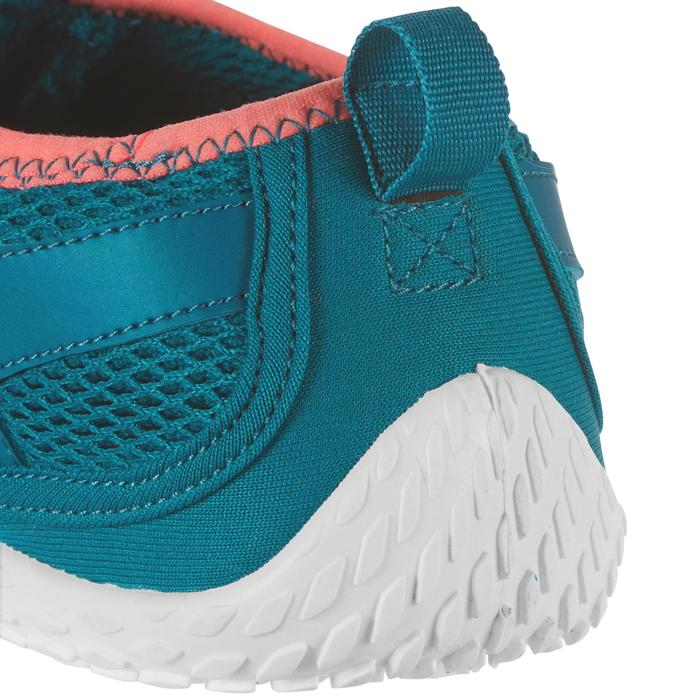 成人款浮潛鞋SNK 500-藍色/粉紅色