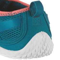 Zapatillas acuáticas Aquashoes 500 Azul Rosa