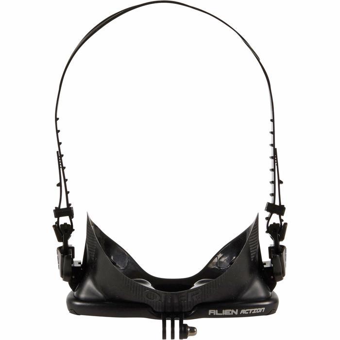 Duikbril voor harpoenvissen en vrijduiken Alien action CAM zwart