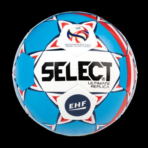 Ballon de handball Select Replica adulte T2 blanc / bleu