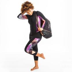 Legging d'Aquafitness femme vib noir