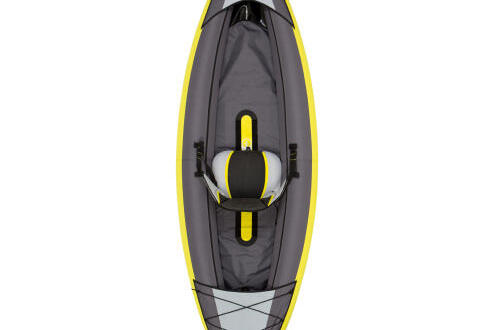 Itiwit inflatable 1-person kayak yellow